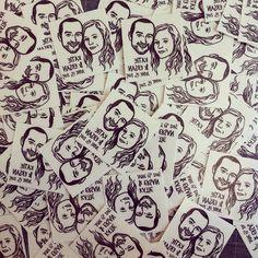 Custom Face Tattoo @lilimandrill www.lilimandrill.fr #etsy #etsygifts #etsywedding #wedding #mariage #bride #diy #couple #stamp #rubberstamp #shopsmall #handmade #gift #tattoo #temporarytattoo #favor #weddingfavor #etsymatch #etsylove #engagement
