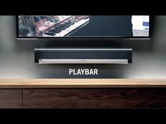 Sonos Playbar is the wireless home theater soundbar for music lovers, with the power to elevate your movies and your parties alike. Wireless Home Theater System, Sonos Wireless, Theater Room Decor, Speaker Stands, Speaker System, Surround Sound Systems, Home Tv, Home Entertainment, Interior Design Living Room