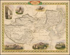Thibet, Mongolia and Mandchouria - Barry Lawrence Ruderman Antique Maps Inc.