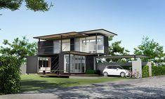 บ้านตู้คอนเทนเนอร์ ขายในไทย ราคา