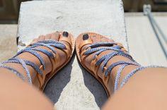 leather sandals greek fashion Ancient Greek Sandals by fattoamanou