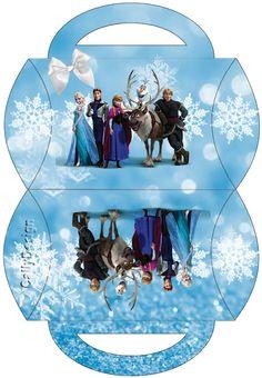 Kit de Frozen con Nieve para Imprimir Gratis. | Ideas y material gratis para fiestas y celebraciones Oh My Fiesta!