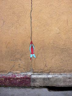 Spiderman on crack #street art #comics