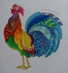Millie Marotta's - Animal Kingdom - Rooster