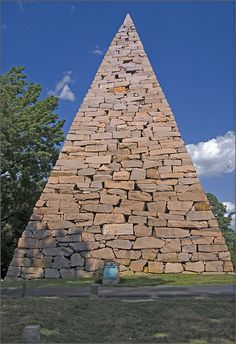 """""""To the Confederate Dead."""" -- Pyramid at Hollywood Cemetery Richmond (VA)"""