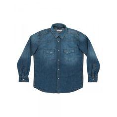 Denim shirt #SUN68 #SS16 #kids #shirt