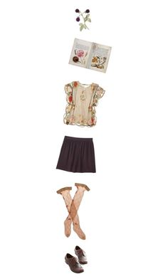 """""""Untitled #2060"""" by zoella ❤ liked on Polyvore featuring One Vintage, November and Trasparenze"""