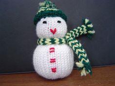 Ravelry: Spunknit's Knitted Snowman pattern by Lane Drogato