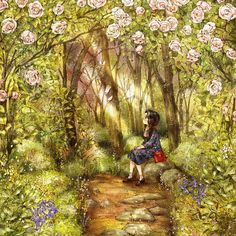 #illustration #drawing #sketch #girl #spring #onepiece #flowerpattern #flower