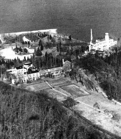 Aerial View of Louis Comfort Tiffany's Laurelton Hall