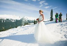Winter weddings are simply magical || Photographer: Anastasia Chomlack || To plan yours: https://www.whistlerblackcomb.com/groups/weddings