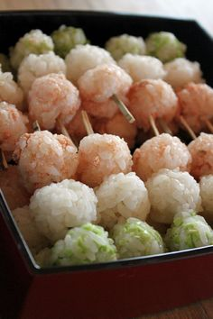 お花見団子寿司