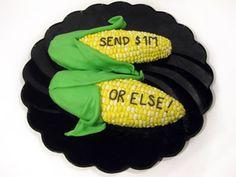 Corn Ultimatum - University of Illinois Edible Book Festival 2011