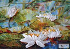 Gallery.ru / Фото #41 - Вышивка лентами 3. - Evgenia-K