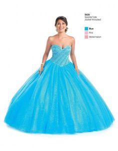 tyll ball kjole quinceanera kjoler