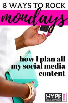 The best way to start your week is prepared and organized. Every Monday I always map out my week for content. Here's how I do it…