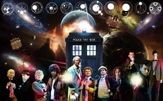Here is a fantastic11 Doctors wallpaper image for your monitor.