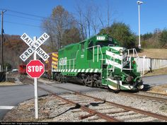 RailPictures.Net Photo: GSMR 777 Great Smoky Mountains Railroad EMD GP9 at Dillsboro, North Carolina by Michael A. Hinson