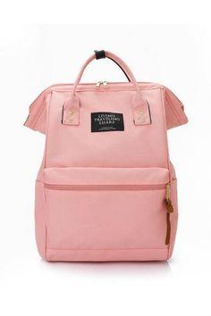 da48aa389cf Retro Rucksack School Backpack