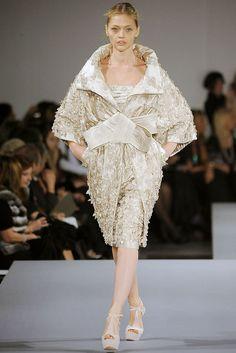 Elie Saab Spring 2009 Couture Fashion Show - Sasha Pivovarova