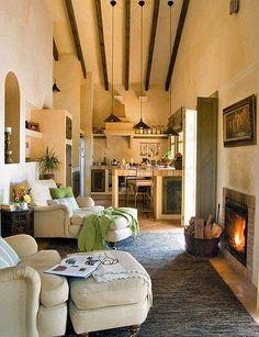 Jurnal de design interior - Amenajări interioare : Rustic andaluzian într-o casă de numai 50 m²