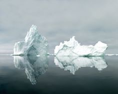'Ilulissat 18, 07/2015.' © Olaf Otto Becker. Image courtesy of Huxley-Parlour Gallery.