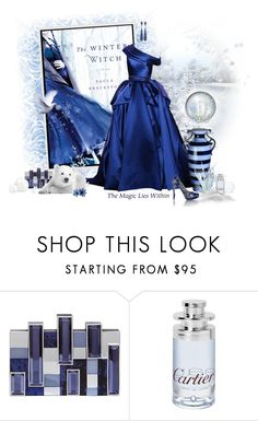 """""""The Winter Witch"""" by gilleyqwyn ❤ liked on Polyvore featuring RALPH & RUSSO, Rauwolf, Cartier, Giuseppe Zanotti, Nicholas Kirkwood and booksandfashions"""