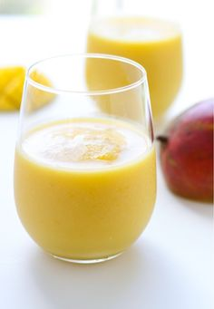 Immunity Defense Smoothie. Pineapple, mango, orange juice,almond milk smoothie