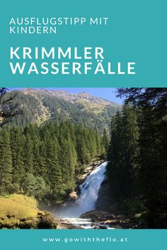 Krimml waterfalls - Krimml waterfalls – excursion tip with children - Top Of The World, Wonders Of The World, Viewing Wildlife, Italy Vacation, Salzburg, Romantic Travel, Venice Italy, Alps, Family Travel