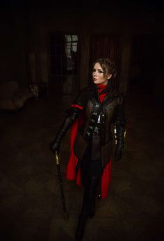 It is a completely handmade, professionally sewn costume. The sale includes Jacket, belt, hood, assassin, assassins blade and walking stick. The shoes will give for free (size 7,5 USA)  The color of items in the photos may be slightly different from the actual color depending on lighting and your monitor settings. Feel free to ask for additional photo!   The finished product. Not refundable.  Assassins Creed Syndicate Сharacter – Evie Frye.  Shipping details: Shipping can be provided in 5-7…