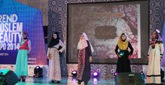 fashion parade @Renan Serrano Trendt moslem beauty expo Surabaya
