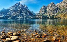 アメリカ・ワイオミング州ジェニー湖