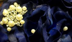 Pearl picks in flowers will leave less areas of solid blue:)  MyGlorifiedLife