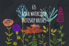 Giant PS Watercolor Brush Pack by Favete Art on Creative Market