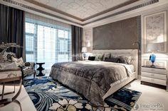 European-style Villa home bedroom decoration design effect drawing 2015