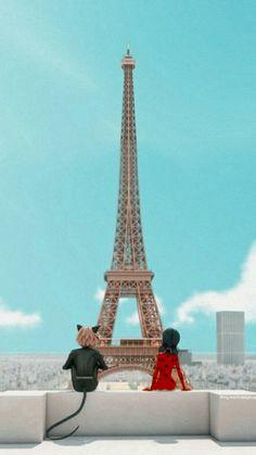 Mlb Wallpaper, Paris Wallpaper, Cartoon Wallpaper, Bugaboo, Paris Background, Perfect Movie, Miraculous Ladybug Wallpaper, Meraculous Ladybug, Imagenes My Little Pony
