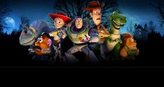 Join the Toy Story gang in a frighteningly fun animated adventure.