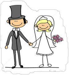 bride groom cartoon - Google Search