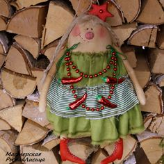 Купить Девочка Ёлка( с перчиком.) - зеленый, подарок на новый год, Новый Год, новогодний подарок