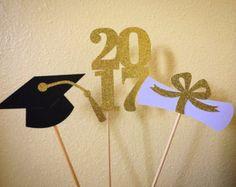 Decoraciones de fiesta de graduación  Decoración por EricasCrafties