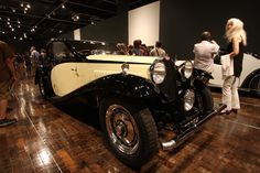We have had incredible crowds since the opening of the #SensuousSteel: #ArtDeco #Automobiles exhibition a mere two weeks ago. Keep 'em coming, folks! You don't want to miss these gorgeous #cars. They roll out of the galleries September 15, 2013.