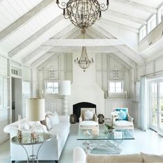 Beautiful Cape Cod Beach House. Decorated in a neutral palette to highlight its gorgeous surroundings.