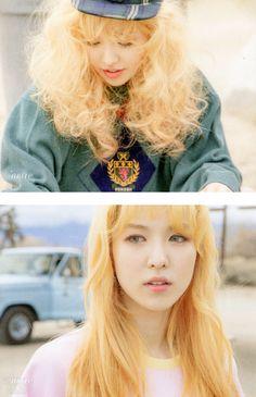 Red Velvet (Wendy) - Ice Cream Cake cr. http://fyeah-redvelvet.tumblr.com/post/118791285092/cr-smorekiss-12