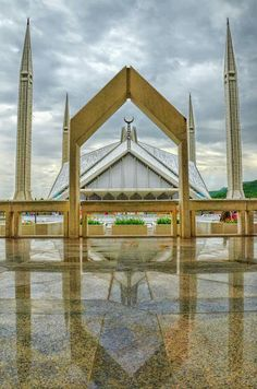 Faisal Masjid, Islamabad, Pakistan.