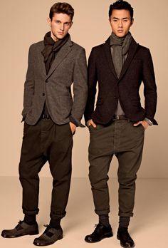 Adam Senn, Arthur Kulkov, Corey Baptiste & Others Front Dolce & Gabbanas Sartoria Fall/Winter 2012 Lookbook