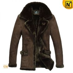 Western Sheepskin Coats for Men | Mens Sheepskin Fur Coat CW819139 - cwmalls.com