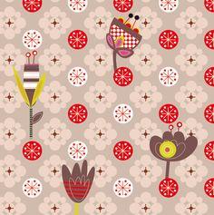 Lé de papier-peint enfant - Fleurettes - Les Contemplatives