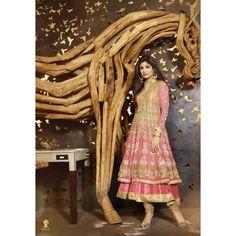 Shilpa Shetty Georgette Zari Work Pink Semi Stitched Long #AnarkaliSuit  #womenswear #fashion #clothing  #SalwarKameez  #SuitSet  #navrarti #suitset #navratri2014 #partywear #salwar #georgette   #anarkali #designer #suits #georgette  #anarkalisuits  #StayTrendyWithIndiaRush
