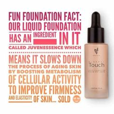 Mineral Touch Liquid Foundation Younique Makeup photoshop in a bottle, slows down aging. Younique Products Fastest growing home based business! Join my TEAM! Younique Make-up Presenters Kit! Join today for only $99 and start your own home based business. Do you love make-up? So many ways to sell and earn residual income!! Your own FREE Younique Web-Site and no auto-ship required!!! Fastest growing Make-up company!!!! Start now doing what you love…