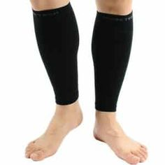 Strong-Willed New 1 Pair Spandex Medical Support Leg Shin Socks Calf Slim Sleeve Sock Compression Brace Wrap Hot For Women Lady Dancing Warmer Making Things Convenient For The People Women's Socks & Hosiery